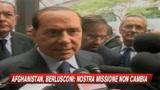 Afghanistan, Berlusconi: la missione non cambia