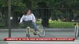 Ecoincentivi, 14milioni di euro per le biciclette