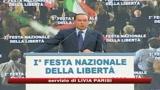 28/09/2009 - Berlusconi attacca la sinistra, Bersani: un comiziaccio