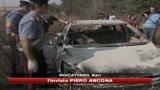 28/09/2009 - Noicattaro, trovata bruciata l'auto dei rapinatori