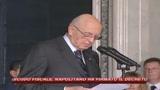 Scudo, polemica Di Pietro per critiche Napolitano