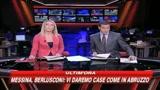 Messina, Berlusconi: faremo nuove case come a L'Aquila