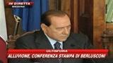 Messina, Berlusconi: nubifragio previsto, daremo 1 mld