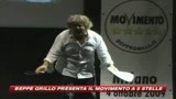 Beppe Grillo lancia il suo Movimento a 5 stelle