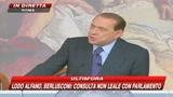 Berlusconi: La stroia di Napolitano è di sinistra