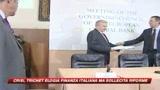Trichet: L'Italia sta per uscire dalla crisi