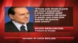Berlusconi: andiamo avanti col ponte sullo Stretto