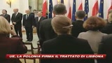 10/10/2009 - Ue, anche la Polonia aderisce al Trattato di Lisbona