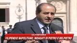 Vilipendio a Napolitano, indagati Belpietro e Di Pietro