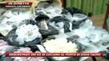 15/10/2009 - Gioia Tauro, Fiamme Gialle sequestrano 200 kg cocaina