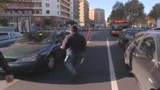 20/10/2009 - Roma, Alemanno multa lavavetri e ambulanti ai semafori