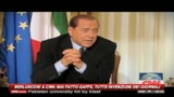 Berlusconi alla Cnn: mai fatto gaffe, tutte invenzioni