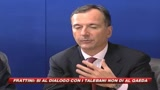 22/10/2009 - Frattini: Possibile un accordo con i talebani