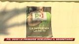 25/10/2009 - Oggi le primarie: il popolo del Pd sceglie il leader