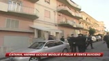 Catania, uccide moglie e figlia a coltellate