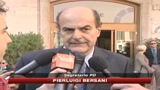 29/10/2009 - Crisi, Bersani: giudizio Draghi pertinente e realistico