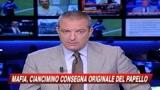 29/10/2009 - Mafia, Ciancimino junior consegna il papello originale