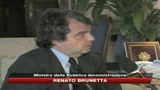 30/10/2009 - Disoccupazione, Brunetta: al Sud è frutto di politiche