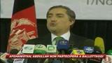 Kabul, Abdullah non accetta il ballottaggio con Karzai