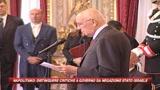 Napolitano: Israele può vincere la sfida per la pace