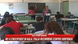 Corte Ue: no al crocefisso a scuola
