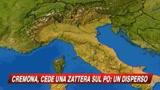 07/11/2009 - Cede una zattera sul Po: un disperso