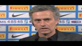 09/11/2009 - Inter, Mourinho: brutta  partita e arbitro contro