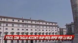 Il Governo vara tagli ad irap e irpef per oltre 3 mld