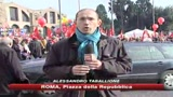 Roma, la Cgil in piazza contro la crisi