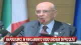 Napolitano: Il Parlamento ha grosse difficoltà