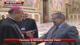 Da Zeffirelli a Baglioni, il Papa incontra 260 artisti