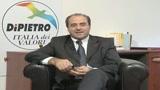 22/11/2009 - Di Pietro: governo alla canna del gas