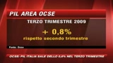 Ocse, il Pil italiano cresce dello 0,6%