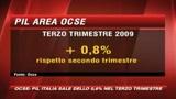 Ocse, il Pil italiano cresce dello 0,6%