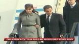 Woody Allen strappa Carla Bruni a Sarkozy