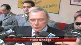 Blitz Bari, Grasso: scoperto volto a malavita pugliese