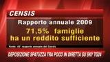 Censis:L'Italia resiste alla crisi