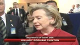 04/12/2009 - Afghanistan, Hillary Clinton a SKY TG24: Grazie Italia