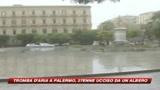 Tromba d'aria a Palermo. Ucciso dalla caduta di un albe