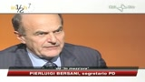 No B day, Bersani: Pd non si accoda ma coglie energie