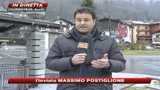 Ponte dell'Immacolata con piste da sci innevate