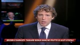 Brown e Sarkozy: tassa speciale per i bonus bancari