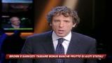 Brown e Sarkozy: tassa speciale per i bonus bancari