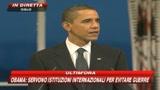 Obama: il solo pacifismo non fermerà la violenza