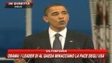 Obama:Gli strumenti della guerra per conservare la pace