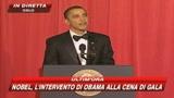 Nobel, l'intervento di Obama alla cena di gala