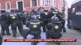 Vertice Copenaghen, fermati quaranta manifestanti