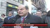 Bersani: Chi ha il consenso, non  il padrone