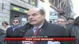 Bersani: Chi ha il consenso, non è il padrone