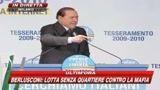Berlusconi: L'antimafia dei fatti contro le calunnie